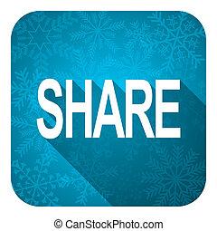 分享, 套間, 圖象, 聖誕節, 按鈕