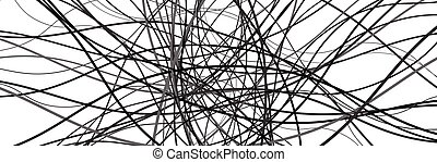 分散させる, 交差する, sinuous, 波状, 抽象的, ジグザグ, パターン, バックグラウンド。, ...