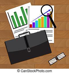 分析, ......的, 經濟增長, 在, 事務