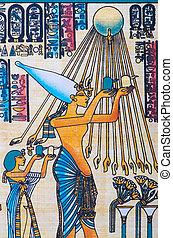 分解しなさい, パピルス, エジプト人