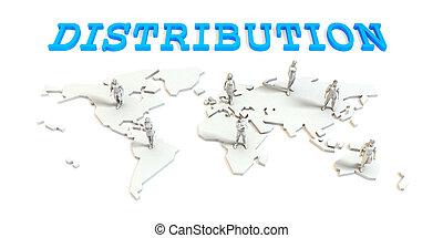 分配, グローバルなビジネス