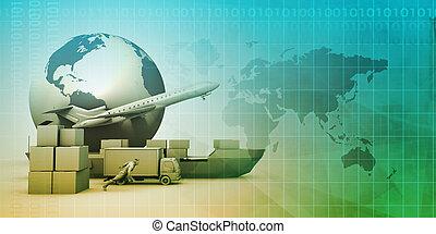 分配, 世界的なネットワーク