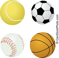 分類される, ボール, スポーツ