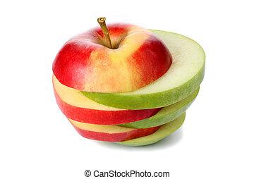切口, りんごの切れ