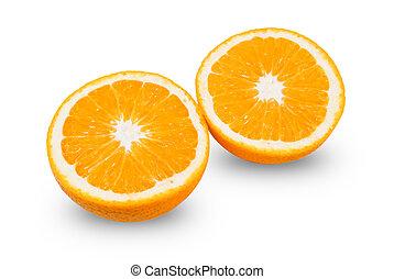 切口, オレンジ