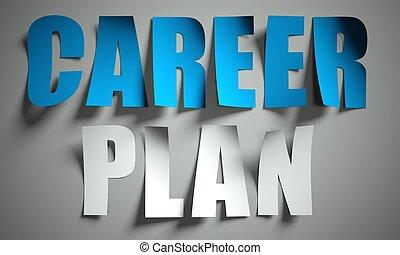 切口, 時間, キャリア, ペーパー, 計画, 背景