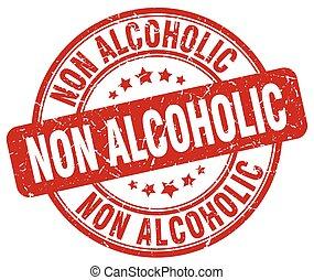 切手, ∥ない∥, グランジ, 赤, アルコール中毒患者