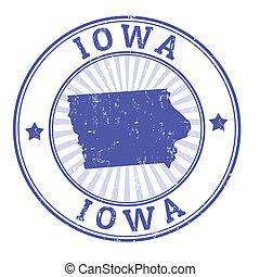 切手, アイオワ