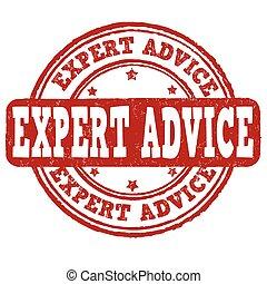 切手, アドバイス, 専門家