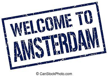 切手, アムステルダム, 歓迎