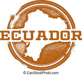 切手, アメリカ, エクアドル, 南