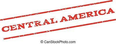 切手, アメリカ, 中央である, watermark