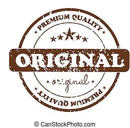 切手, オリジナル