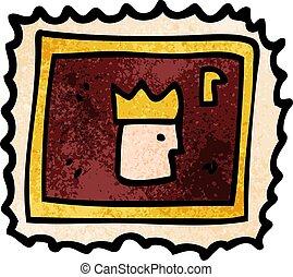 切手, カートン