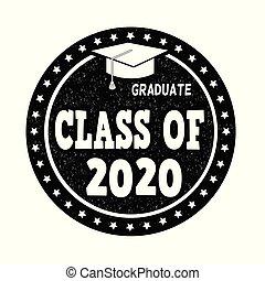 切手, クラス, 2020