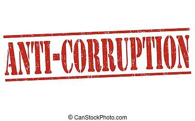 切手, グランジ, anti-corruption