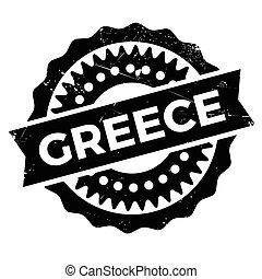 切手, ゴム, グランジ, ギリシャ