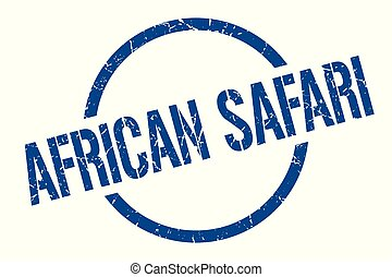 切手, サファリ, アフリカ