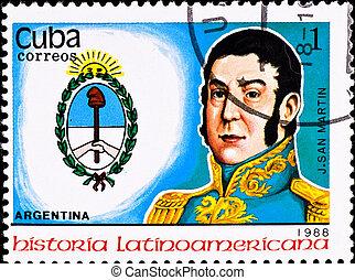 切手, ショー, アルゼンチン, 責任者, j., san, イワツバメ