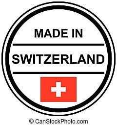 切手, スイス, 作られた