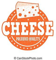切手, チーズ