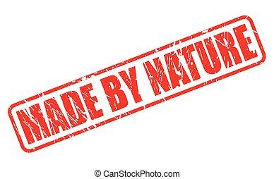 切手, テキスト, 作られた, 赤, 自然