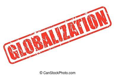 切手, テキスト, globalization, 赤