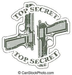 切手, トップの秘密