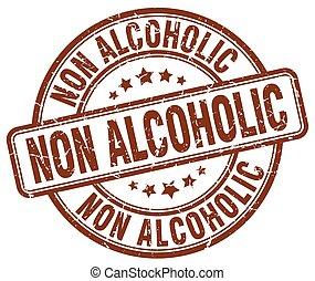 切手, ブラウン, ∥ない∥, グランジ, アルコール中毒患者