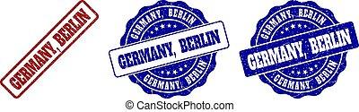切手, ベルリン, グランジ, ドイツ, シール