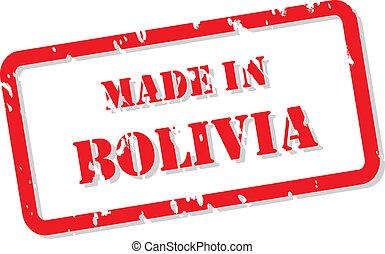 切手, ボリビア