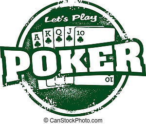 切手, ポーカー, トーナメント