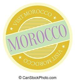 切手, モロッコ, 地理的