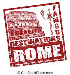切手, ローマ