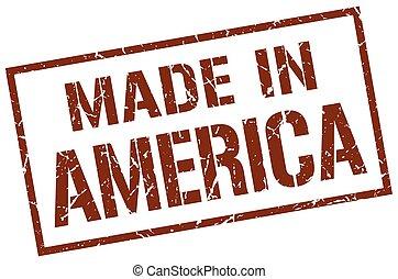切手, 作られた, アメリカ