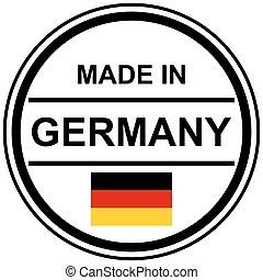切手, 作られた, ドイツ
