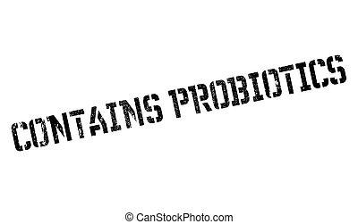 切手, ∥含んでいる∥, probiotics
