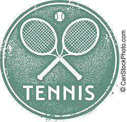 切手, 型, テニス, スポーツ
