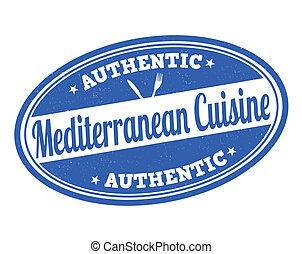 切手, 料理, 地中海