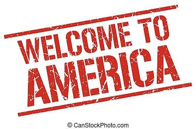 切手, 歓迎, アメリカ