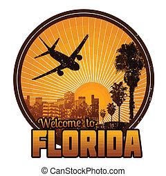 切手, 歓迎, フロリダ, ∥あるいは∥, ラベル