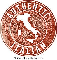 切手, 正しい, イタリア語