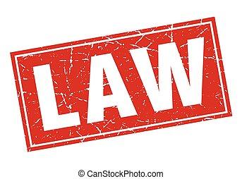 切手, 法律, 広場