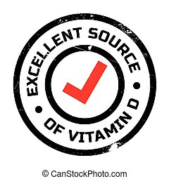 切手, 源, 優秀である, d, ビタミン