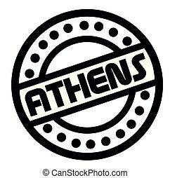 切手, 白, アテネ