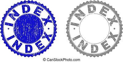 切手, 索引, textured, グランジ, シール