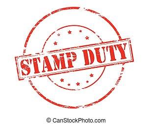 切手, 義務