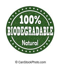 切手, biodegradable