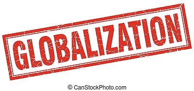 切手, globalization, 広場