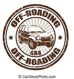切手, off-roading